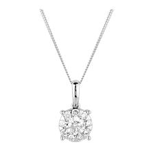 For Her - Brilliant Cut 0.50ct Solitaire Style Pendant