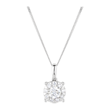 For Her - Brilliant Cut 0.68ct Solitaire Style Pendant