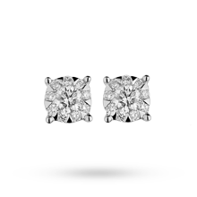 For Her - Brilliant Cut 0.34ct Solitaire Style Studs