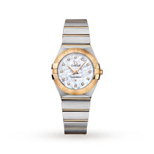 Ladies Watches - Omega Constellation Ladies Watch - 123.20.27.60.55.002