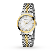 Ladies Watches - Gucci Timeless Bi-Colour Ladies Watch - YA126511