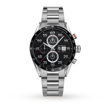Mens Watches - TAG Heuer Carrera Chronograph Gents Watch - CAR2A10.BA0799
