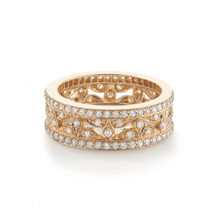 For Her - Empress Yellow Gold and Diamond Ring