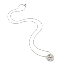 For Her - Empress Mini White Gold and Diamond Pendant