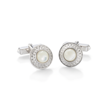 For Him - Belgravia Mother of Pearl Cufflinks