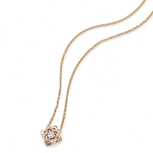 For Her - Floresco Rose Gold Mini Diamond Pendant